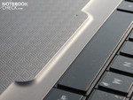 Edge of the touchpad