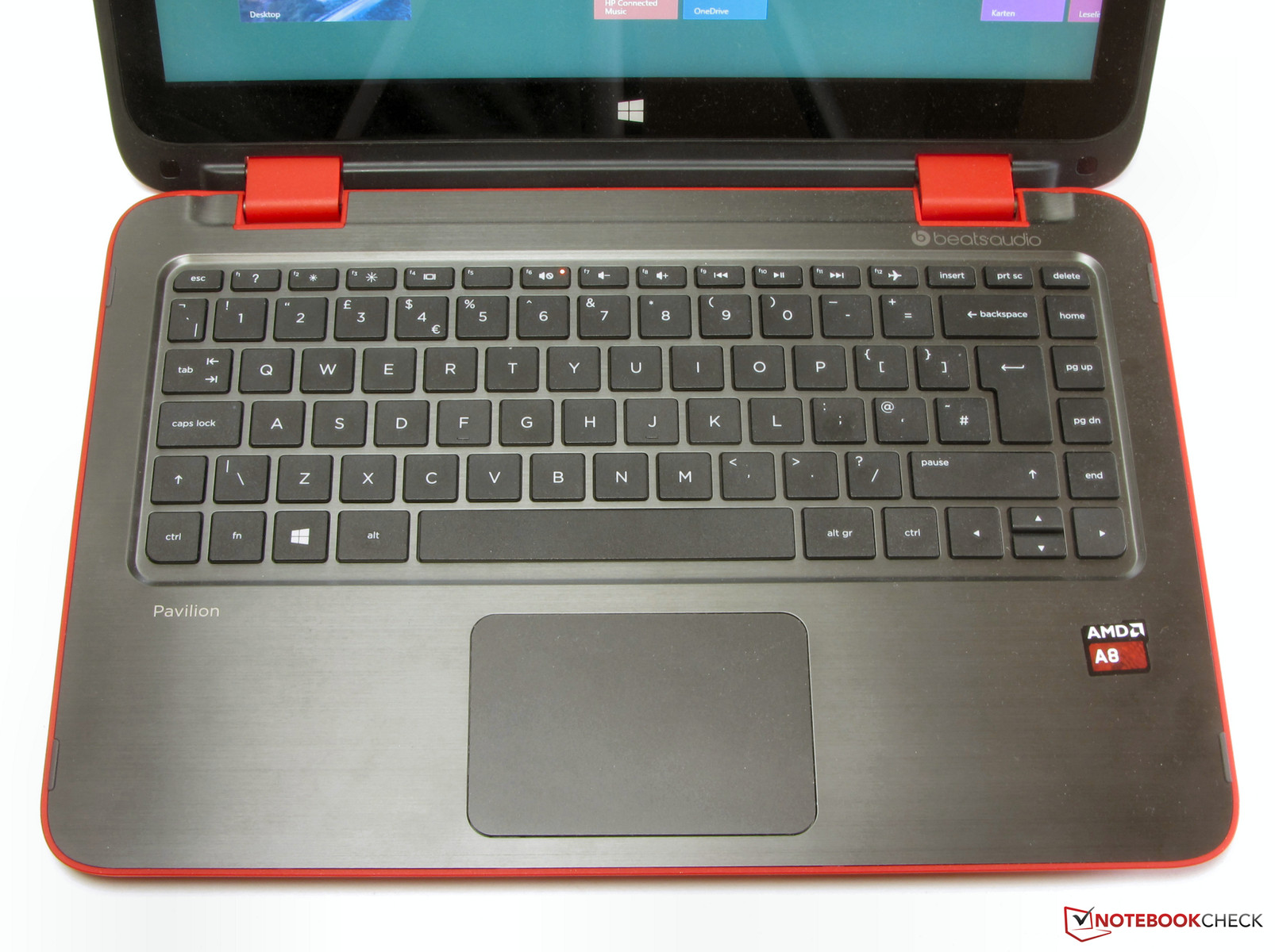 Hp pavilion 13 a093na x360 convertible review update notebookcheck