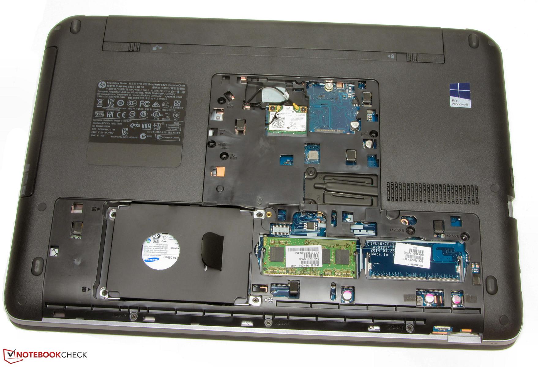 hp probook 450 g2 notebook review notebookcheck net reviews Spiral Notebook Gateway Notebook Manual