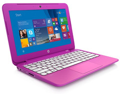 HP Stream 11 notebook PC with Intel Celeron processor and Windows 8.1