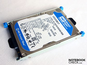 The 500 GB SATA hard disk