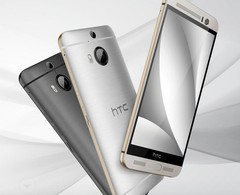 HTC One M9+ Supreme Camera Edition Android smartphone with OIS and dual LED flash, Taiwan-exclusive