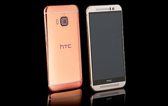 Custom luxury HTC One M9 in Rose Gold finish by Goldgenie