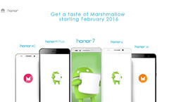 Huawei Honor lineup to get Android M in February 2016