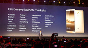 announcement of the Huawei Mate 8