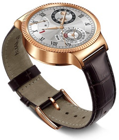 Huawei Watch rose gold limited edition Android Wear smartwatch