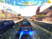Despite the high resolution, the iPad Mini 3 has no problems with complex games like Asphalt 8.