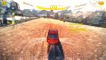 "Very smooth and short loading times: ""Asphalt 8: Airborne""..."