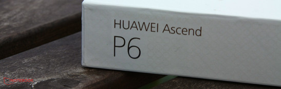 In review: Huawei Ascend P6. Review sample courtesy of Huawei