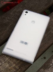 Overall, Huawei's Ascend P6 is a very impressive phone. However, it lacks the final touch for the premium range.
