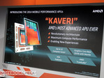 AMD announces Kaveri A-Series APUs for notebooks