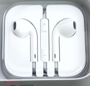 The EarPods could use some better shielding against noise, but their sound quality is okay.