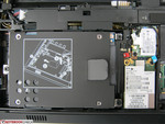 Close-up of HDD