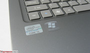 Matching gray Core i5 and Windows 7 labeling