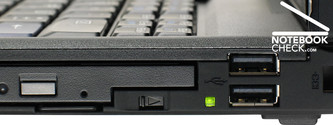 Lenovo ThinkPad T61 UI02BGE Interfaces - right side
