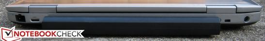 Back: RJ-45, Mini HDMI, Kensington Lock, Power plug