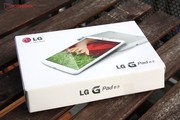 The LG G Pad arrived and has to go through our tests.