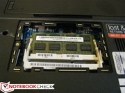 4GB RAM is included in one module, 2 slots available maximum