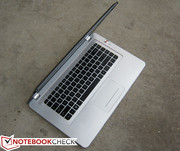 Keyboard gives off a MacBook Pro feel