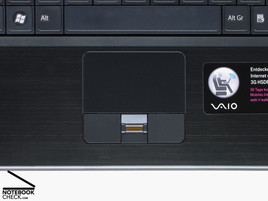 Sony Vaio VGN-SZ61WN/C touch pad