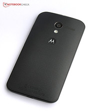 Motorola wants a place in the mid-range with a curved and rubber-coated back, and innovative features.