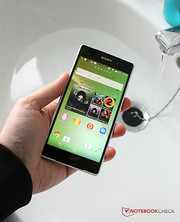 If the openings are covered, the smartphone can get wet without any issues.