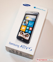 The Samsung ATIV S is the first