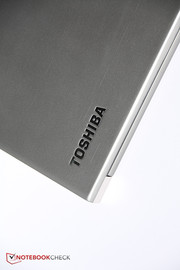 The Tecra Z40 A-147 from Toshiba has a nice magnesium case.