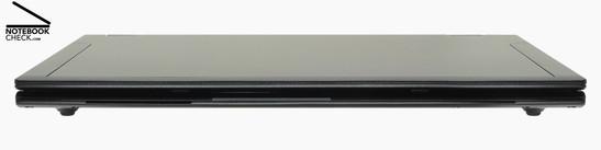 Front Side: Smartcard-Reader, Status-LEDs, Mono loud speaker