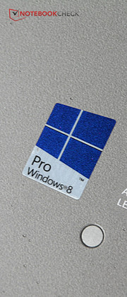 Windows 8 Pro is included making the change from Windows 7 possible at any time.