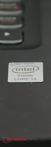 Intel's Core i3 still powers the laptop sufficiently.