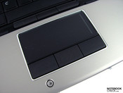 Touchpad with rubber keys