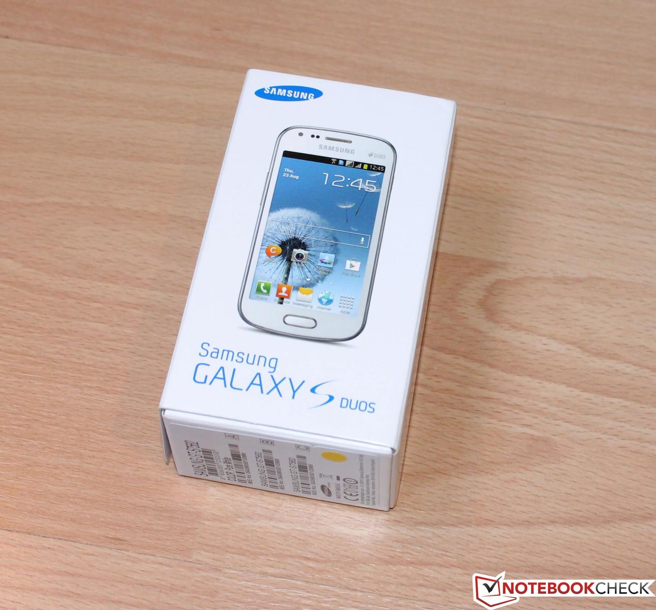 Samsung Galaxy S3 Mini Sim Karte.Review Samsung Galaxy S Duos Gt S7562 Smartphone Notebookcheck Net