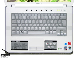 Sony Vaio VGN-CR31S/W keyboard