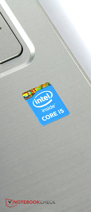 Heart of the device is an Intel Core i5 processor with a low power consumption.