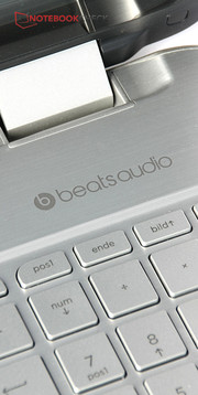 Beats Audio? Yes, the software helps to improve the good sound even further.