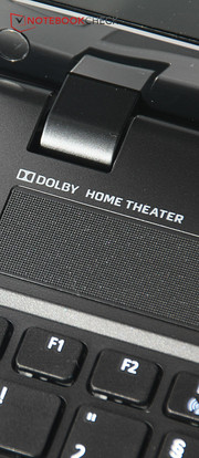 The Dolby software can't improve the sound that much.