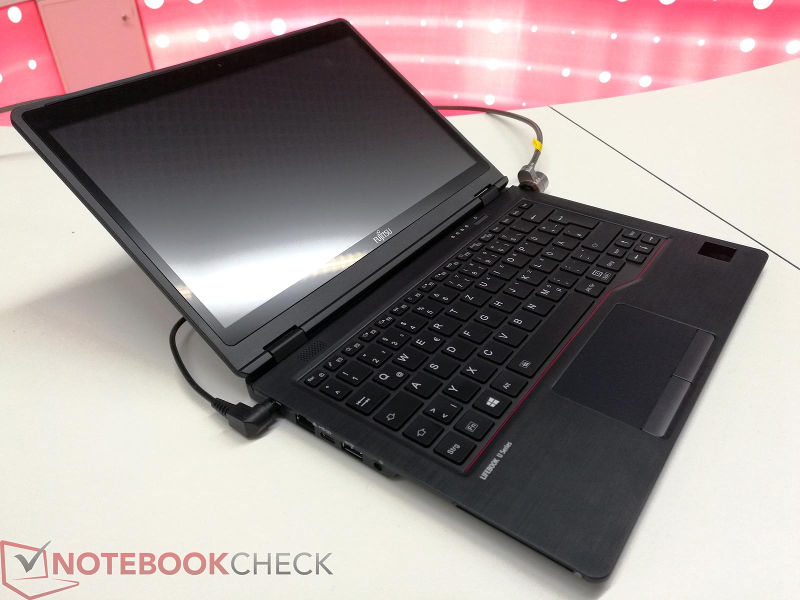 fujitsu unveils new u series notebooks with kaby lake