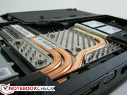 GPU heatsink on top of GTX 680M MXM 3.0 card