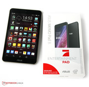 The Asus Memo Pad 8 ME181CX is sold in cooperation with Pro Sieben.