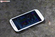 The Galaxy S3 would have convinced us with a higher brightness.