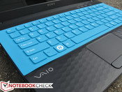 Keyboard (w/ silicon cover)