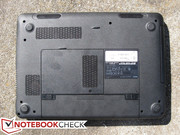 A total of 10 screws stand between the user and the HDD and CPU