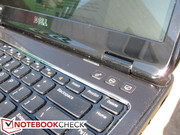The three backlit supplementary keys may or may not be all that useful to the user