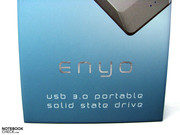The USB 3.0 interface is efficiently used by the OCZ Enyo