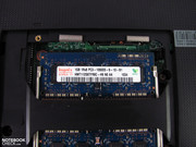 2x 2 GB DDR3 RAM modules are included.