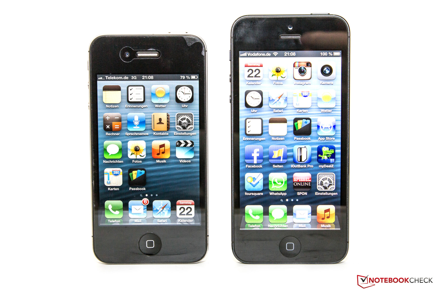 iphone 4s size review apple iphone 5 smartphone notebookcheck net reviews 10931