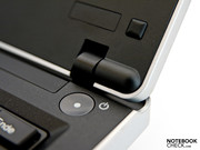 Lenovo's display hinges are convincing despite their small size ...