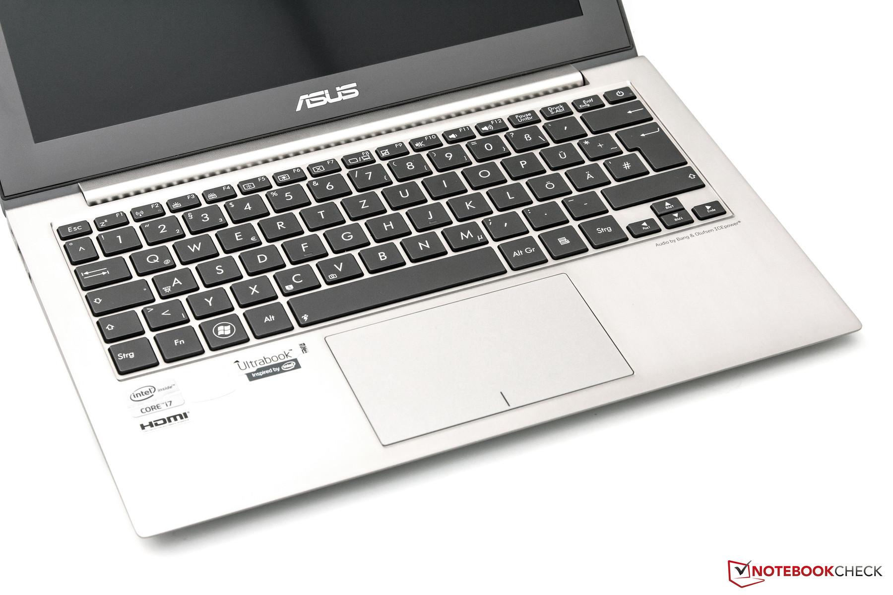 Review Asus Zenbook Prime UX21A Ultrabook - NotebookCheck.net Reviews