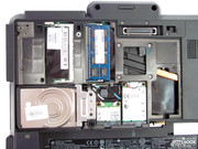 The primary components are under the large panel